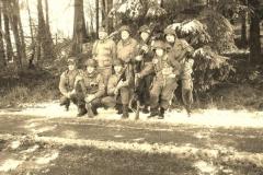 Remember Belgium leden op de Bastogne herdenking in 2017