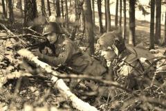 Arne en Tim in Bastogne 2016.